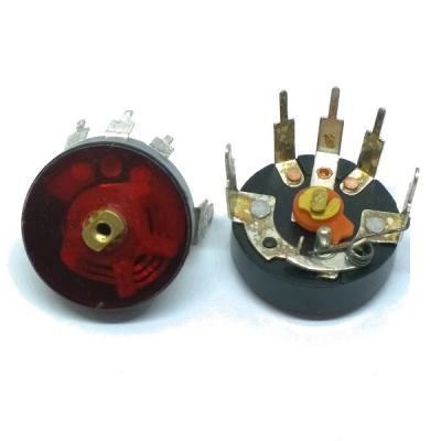 Переменный резистор (плеерный) B50k (моно)