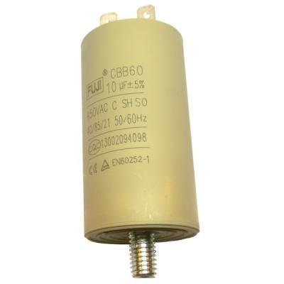 Пусковой конденсатор 10uF/450v FUJI CBB60 35x65 BOLT