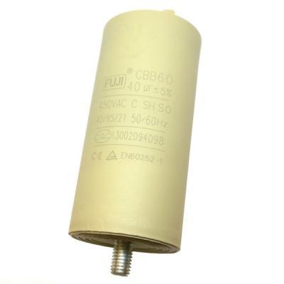 Пусковой конденсатор 40uF/450v FUJI CBB60 45x93mm BOLT