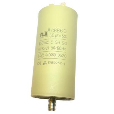 Пусковой конденсатор 50uF/450v FUJI CBB60 45x93 BOLT