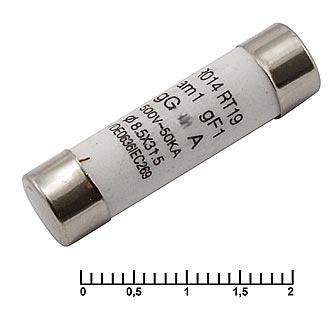 Предохранитель (керамика) 10А 500В 8,5х31,5мм
