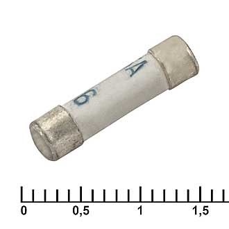Предохранитель (керамика) 0,25А 250В 4х15мм ВП1-1
